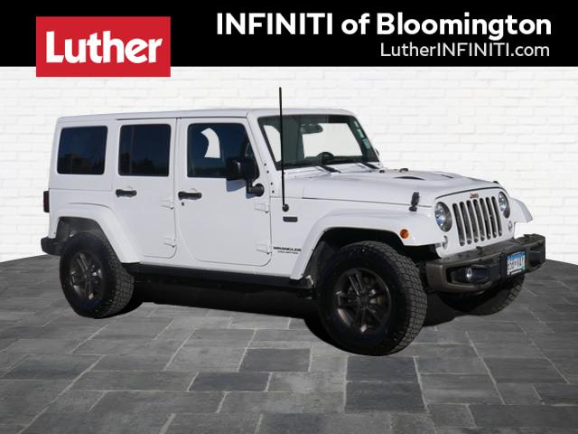 Pre-Owned 2016 Jeep Wrangler Unlimited 75th Anniversary