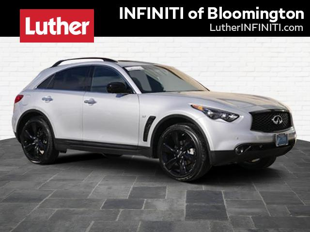 Certified Pre-Owned 2017 INFINITI QX70 AWD SPORT