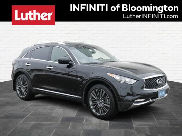 Certified Pre-Owned 2017 INFINITI QX70 AWD LIMITED