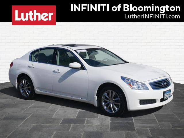 Pre-Owned 2009 INFINITI G37 Sedan x