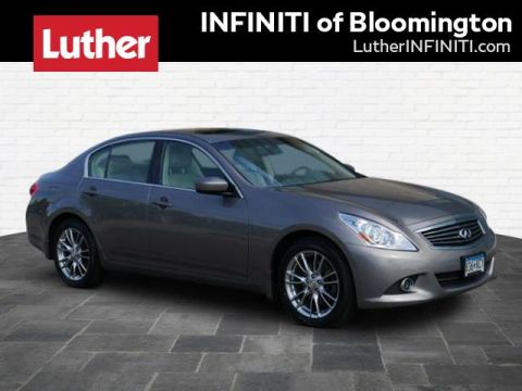Pre-Owned 2012 INFINITI G37 Sedan